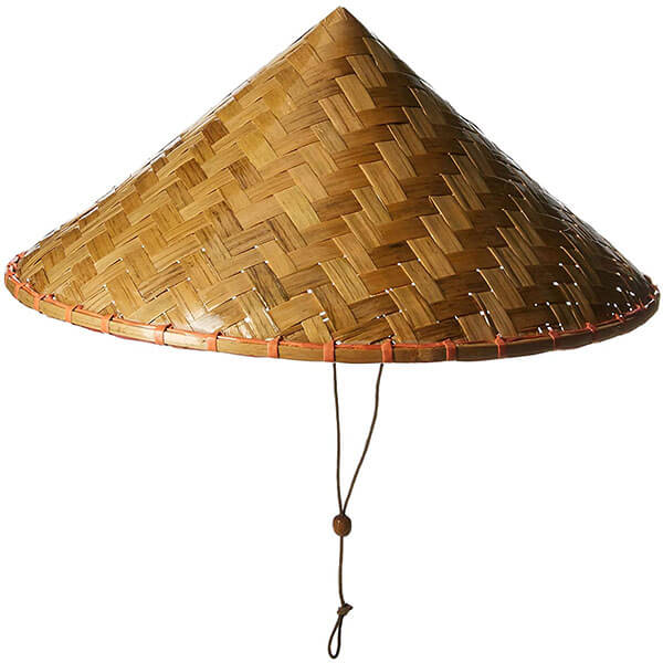 Catchy Polyester Asian Sun Hat