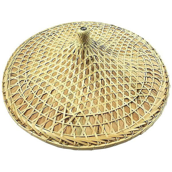 Amazing Asian Bamboo Hat for Adults