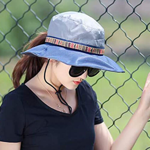 Comfortable Summer Hat with Waterproof Feature