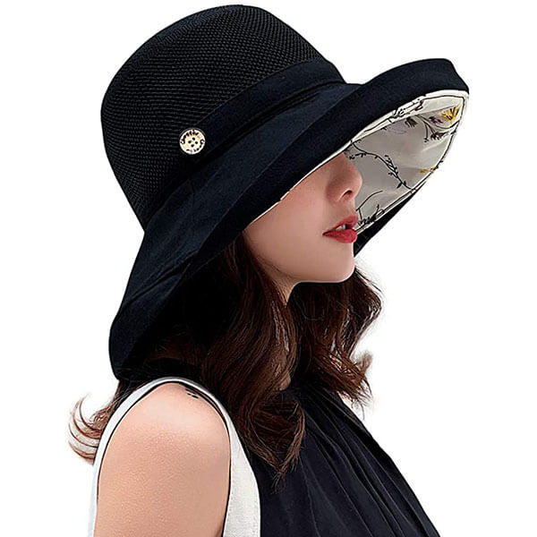 Mesh Sun Hat with UV Protection
