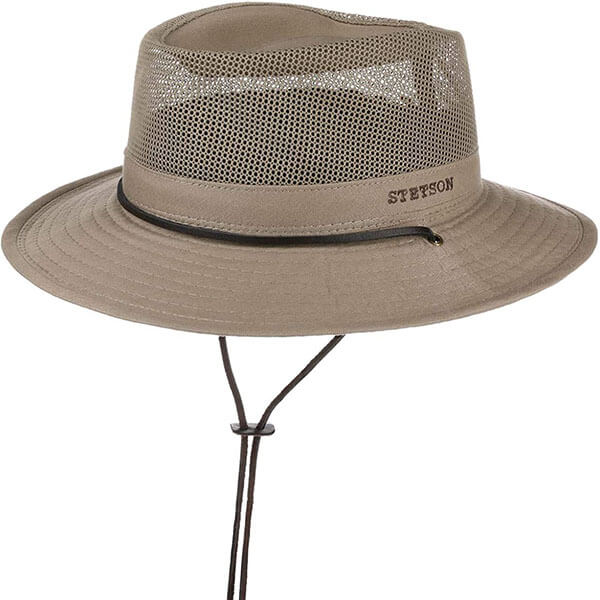 Quick Drying Material Mesh Hat