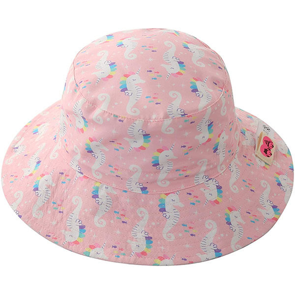 Breathable Bucket Sun Hat For Kids