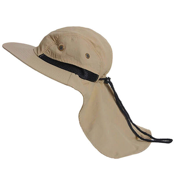 Men's Fishing Sun Hat With Neck Protection