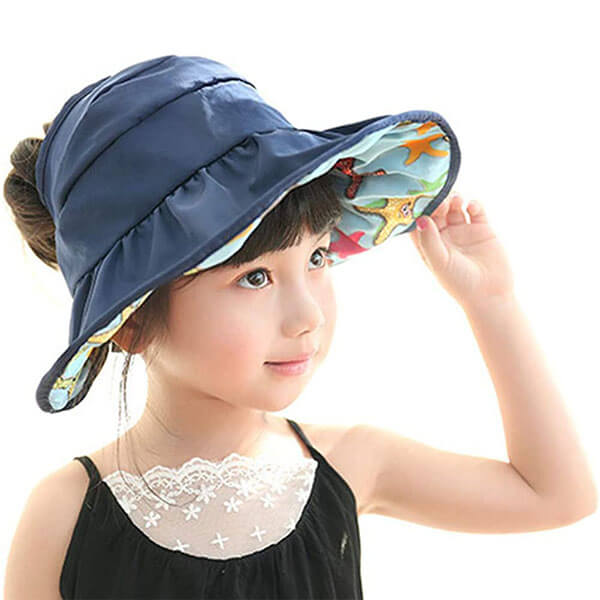 Bucket Sun Hat For Kids With UPF 50+ Protection
