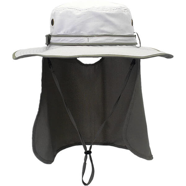 Men's Quick Dry Fishing Hat With Neck Flap