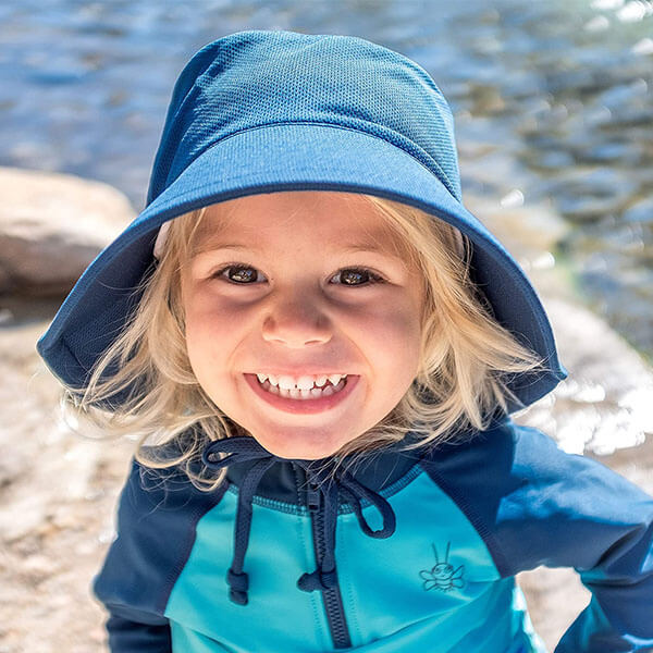 Breathable Sun Bucket Hat For Kids
