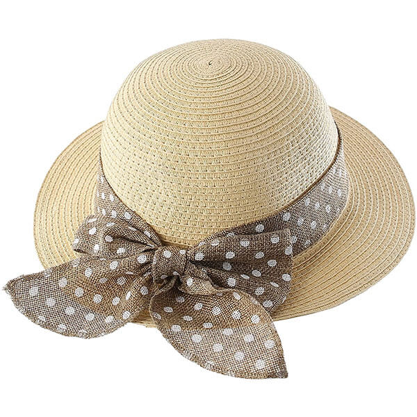 Sun Protection Summer Straw Hat For Kids