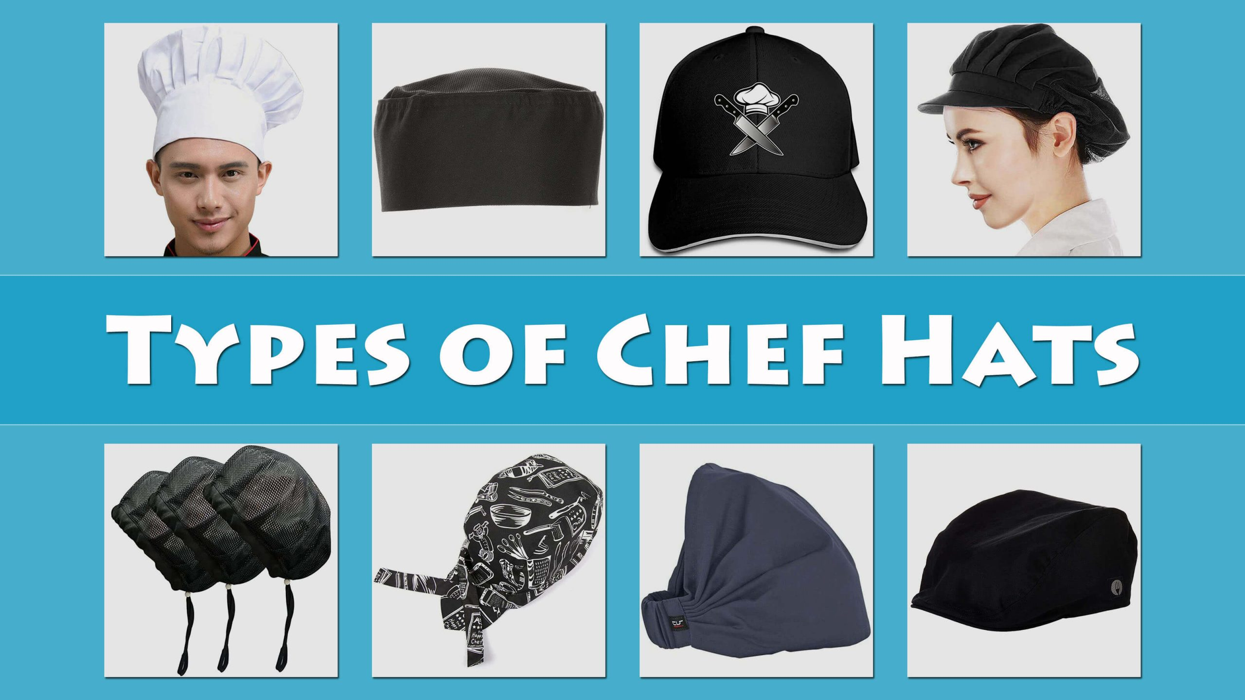 Types Of Chef And Bakers Hats