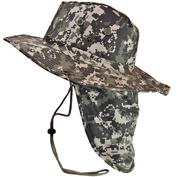 Boonie Hat With Neck Flap