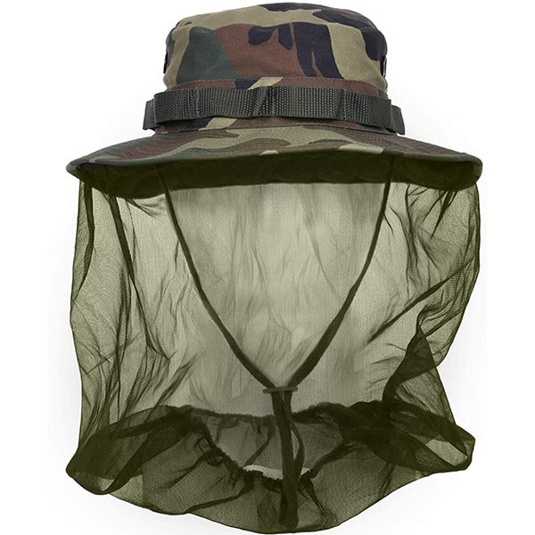 Boonie Hat With Mosquito Net