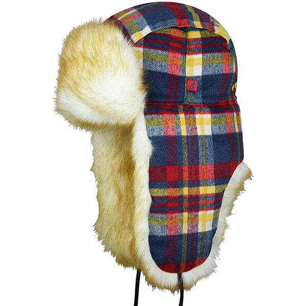 The Urban Style Plaid Trapper Hat