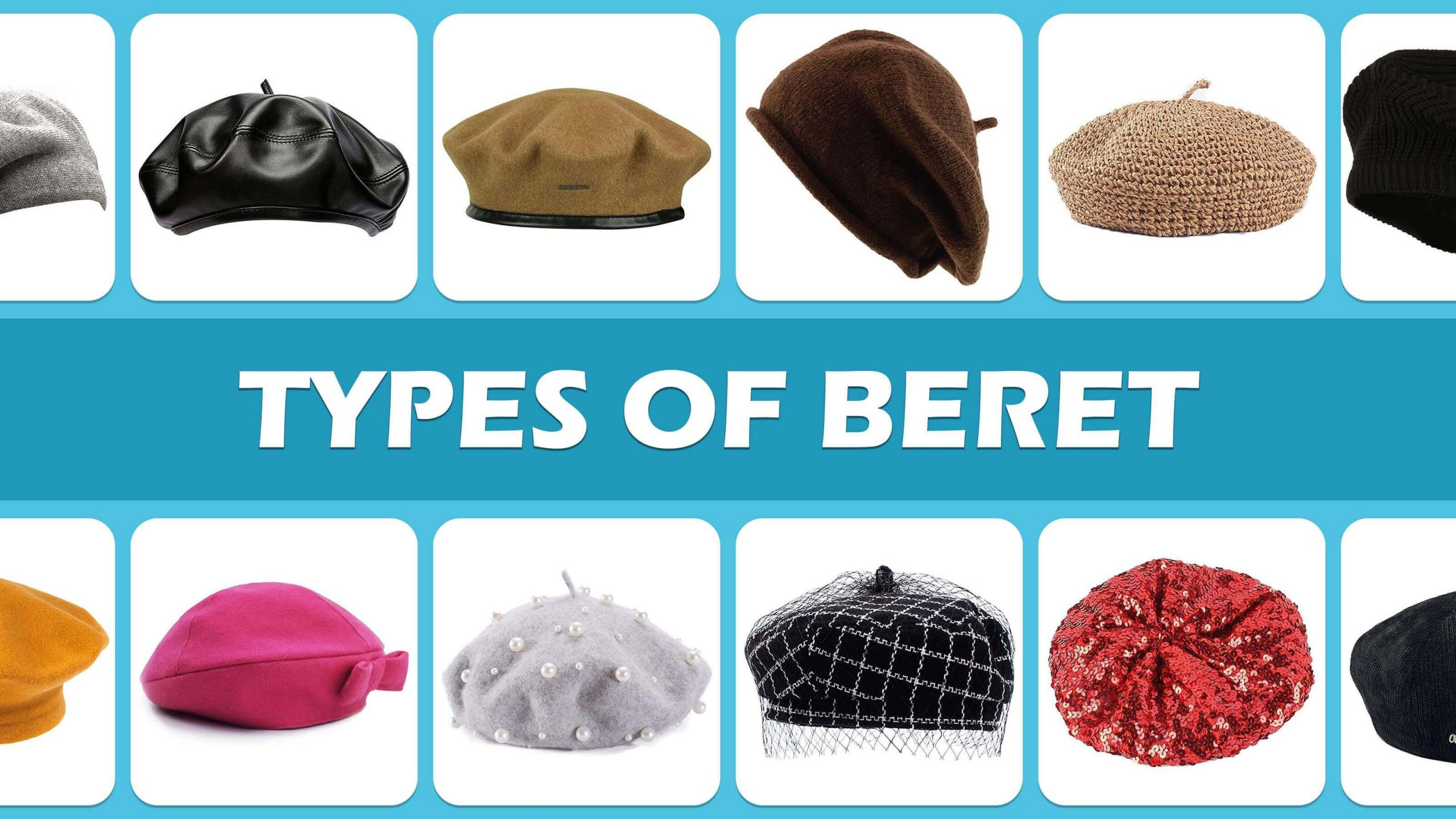 Types Of Beret Hats And Caps
