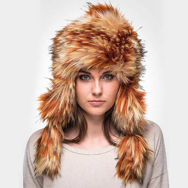 Eye-catching voguish trapper hat for Teens