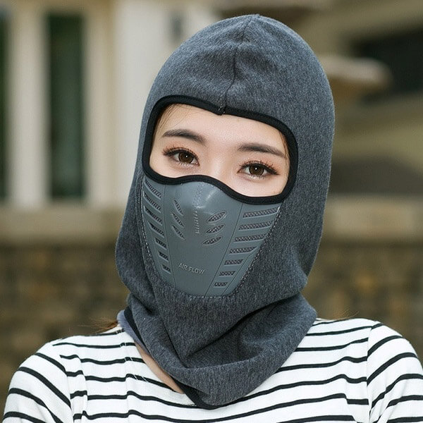 Windproof Carbo and Filter Balaclava