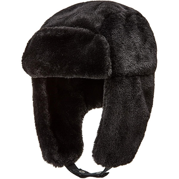 Outstanding leopard print trapper hat for you