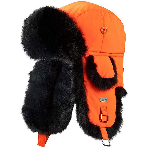 Safety reflective trapper hats for longer nights