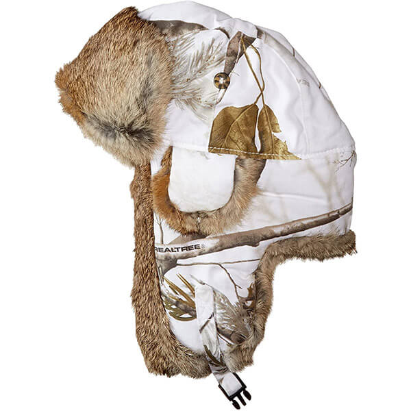 Snow brown trapper hat for adventurers