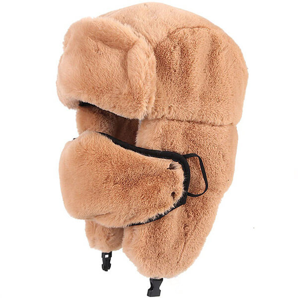 Best selling faux fur trapper hat for frigid temperatures