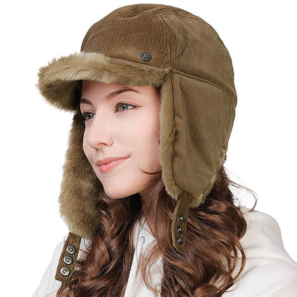 Feminine trapper hat for any outfit