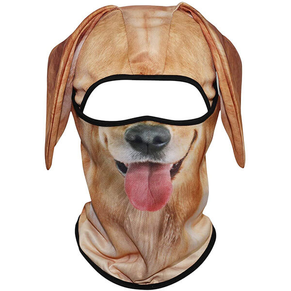 Cool and Comfy Golden Retriever Styled Balaclava