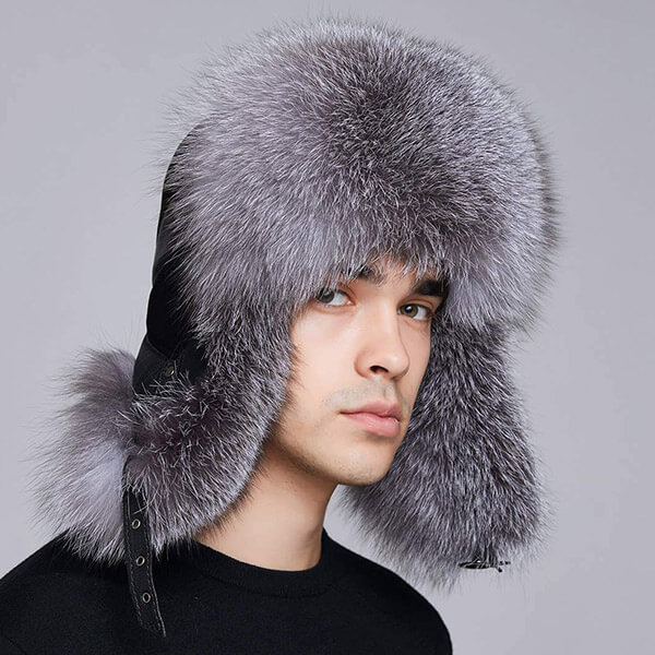 Fashion-forward trapper hat for real fur lovers