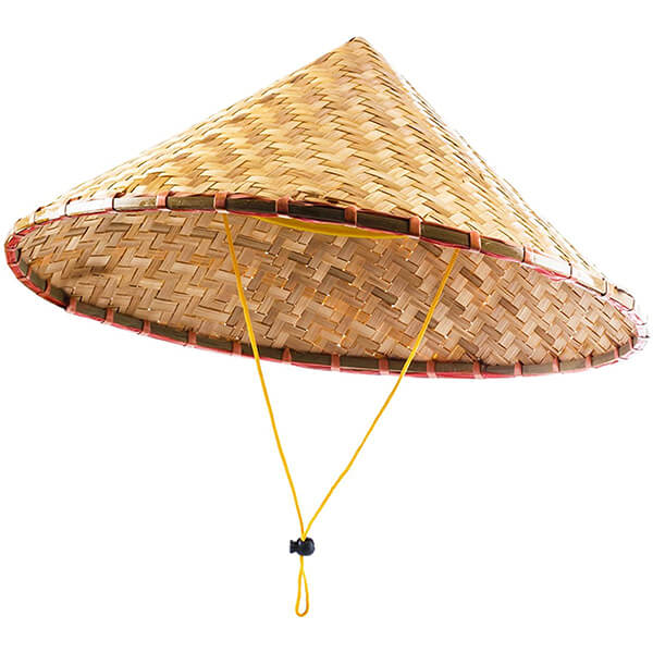 conical asian hat