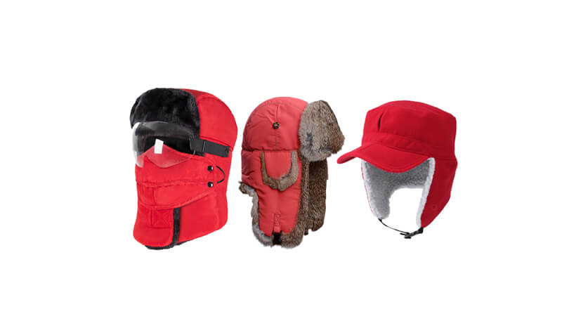 Red Trapper Hat