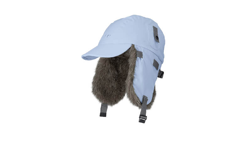 Trapper Hat With Brim