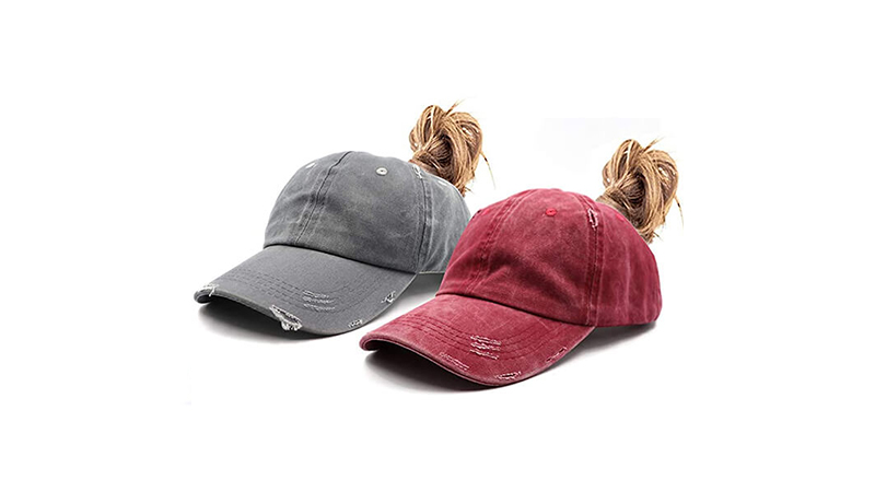 Best Distressed Ponytail Caps Cover