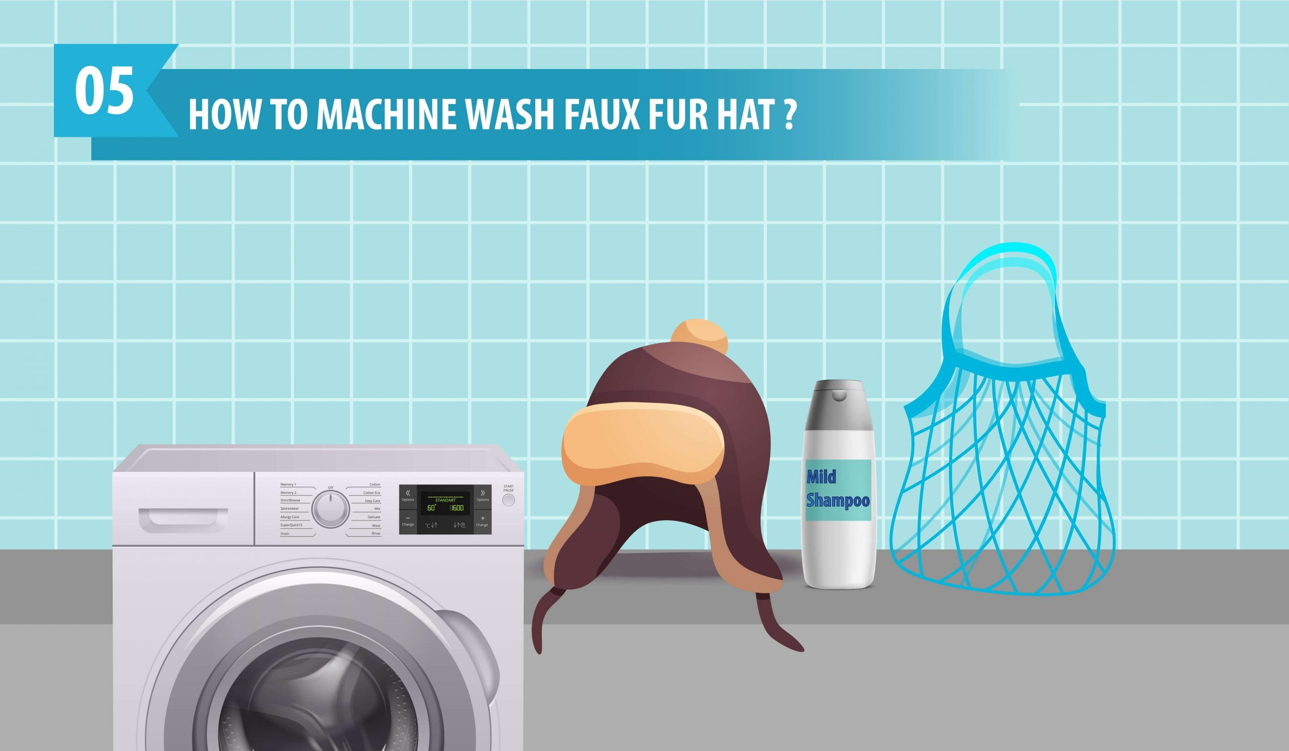 How to Machine Wash A Faux Fur Hat
