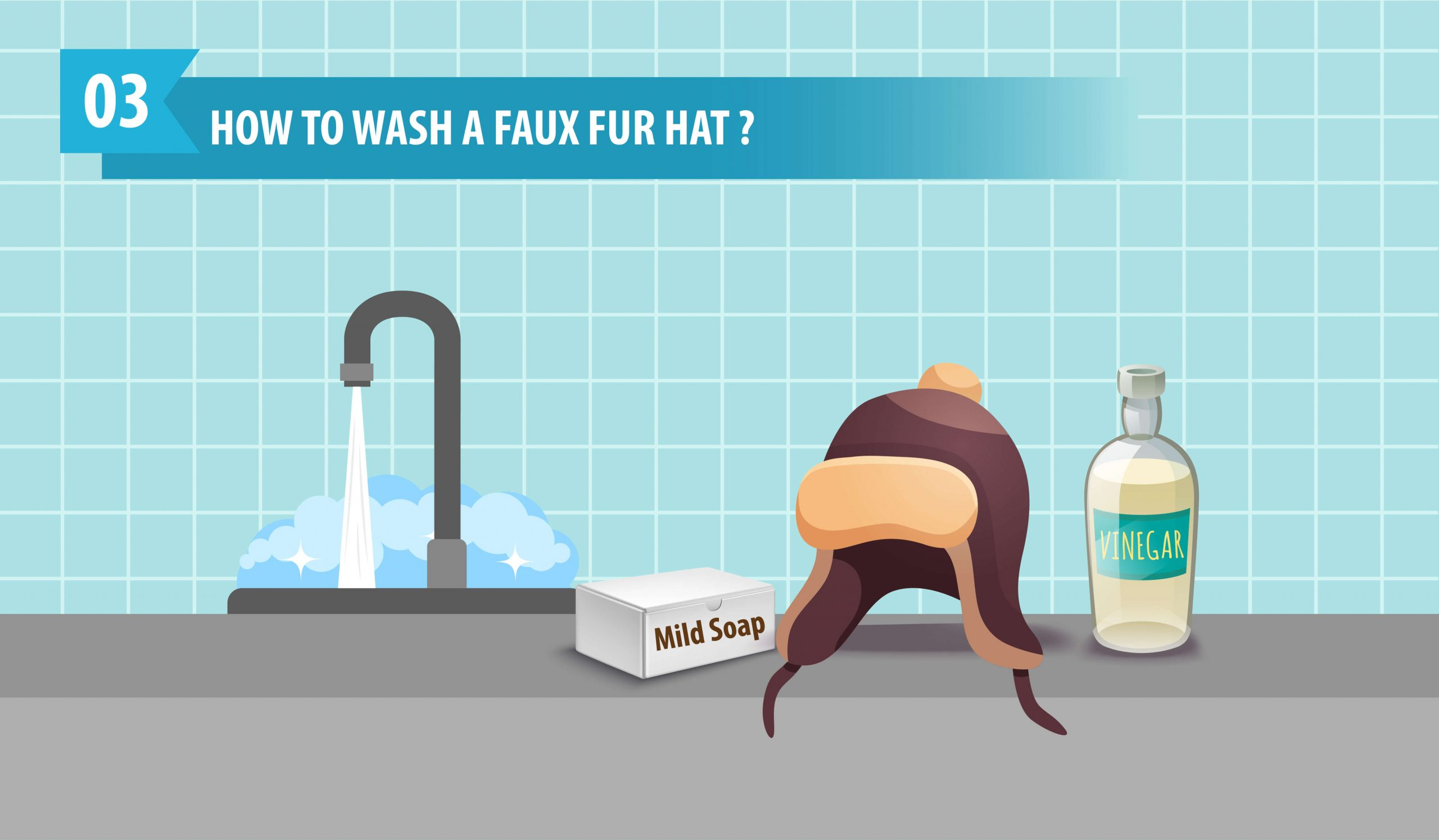 How to Wash A Faux Fur Hat