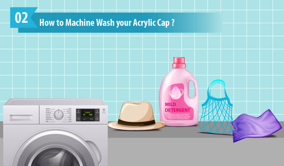 How to Machine Wash your Acrylic Cap