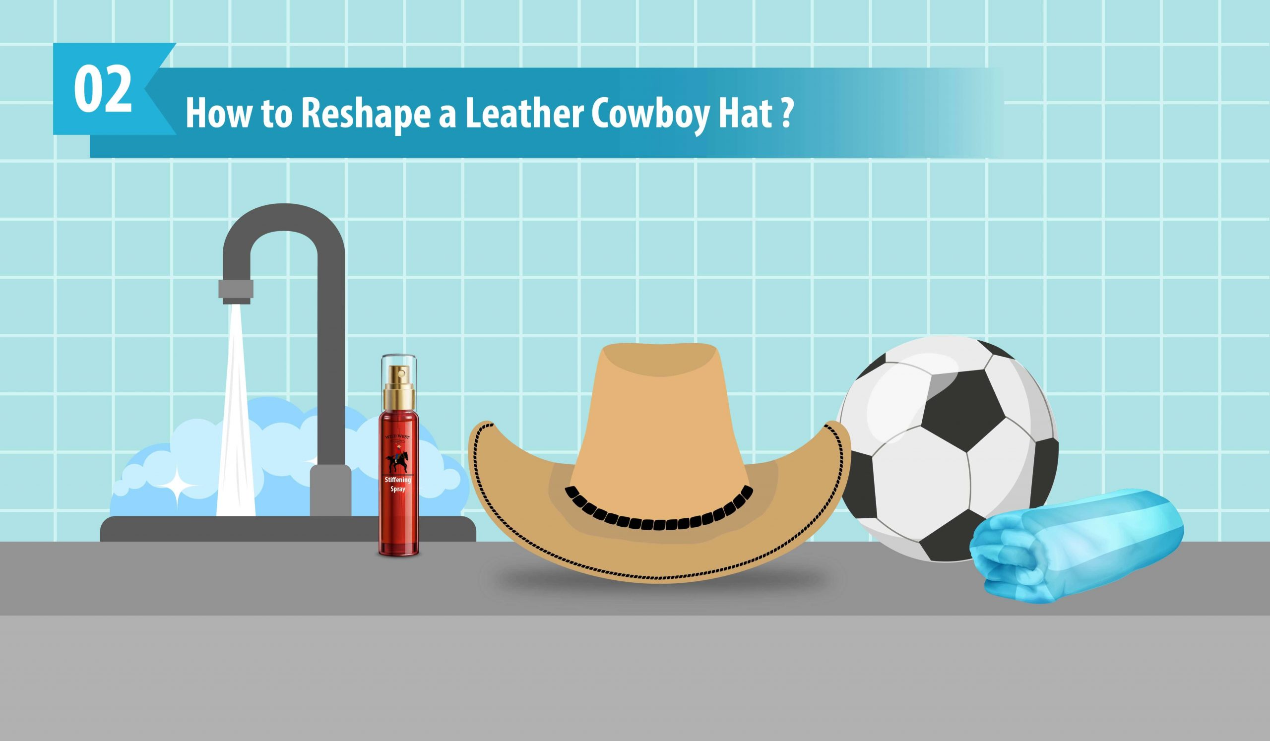 How to Reshape a Leather Cowboy Hat
