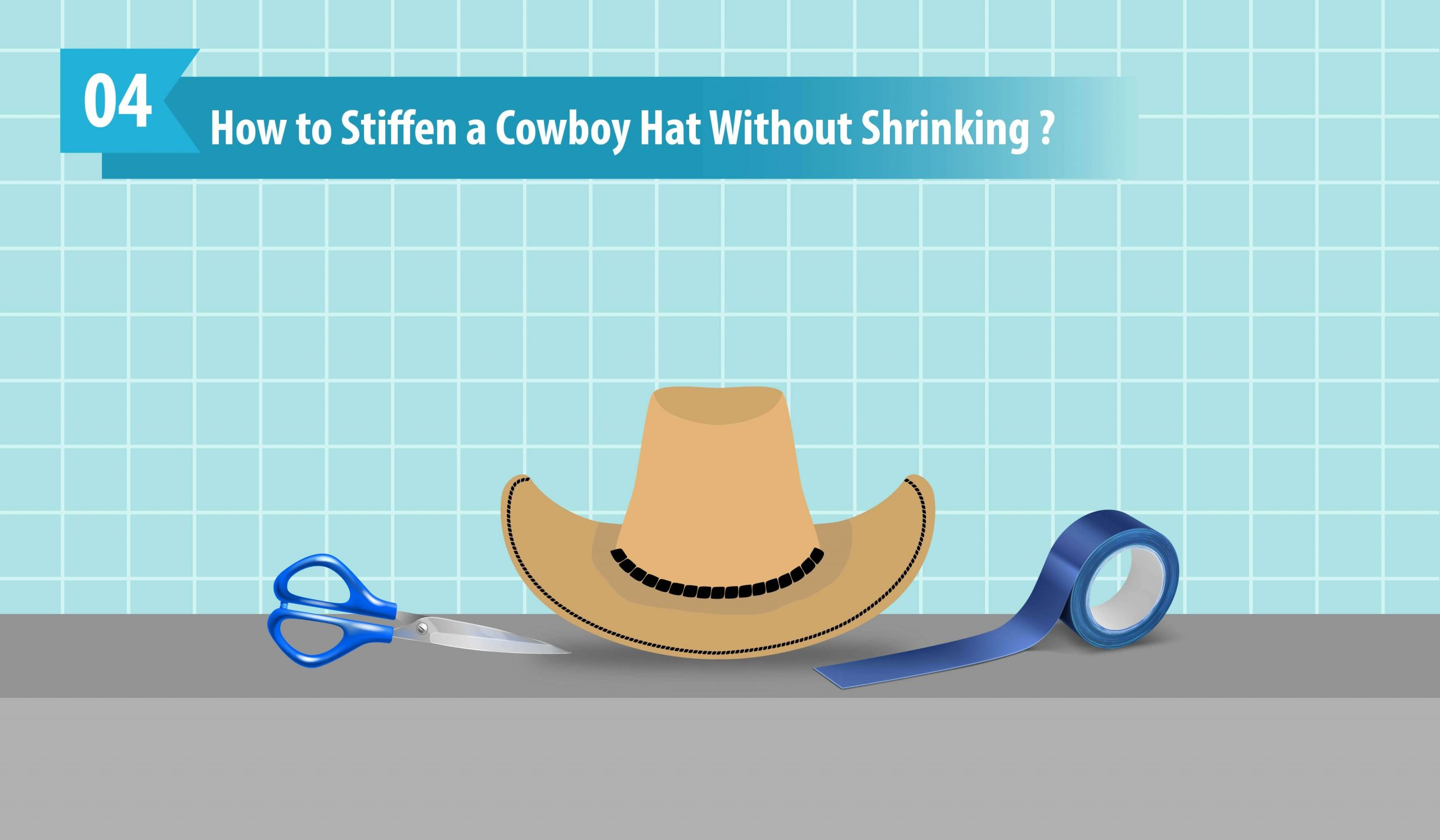 How to Stiffen a Cowboy Hat Without Shrinking