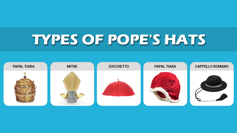 Types Of Popes Hat