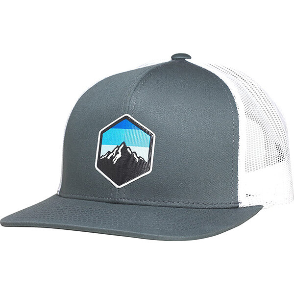 LINDO Mid Profile Trucker Hat with Vinyl Patch