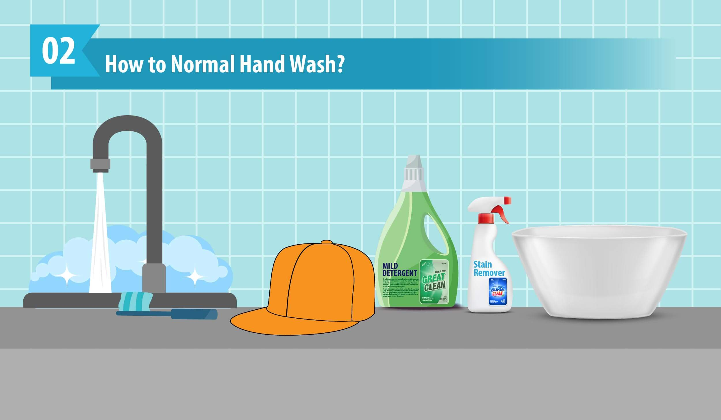 How to Normal Hand Wash