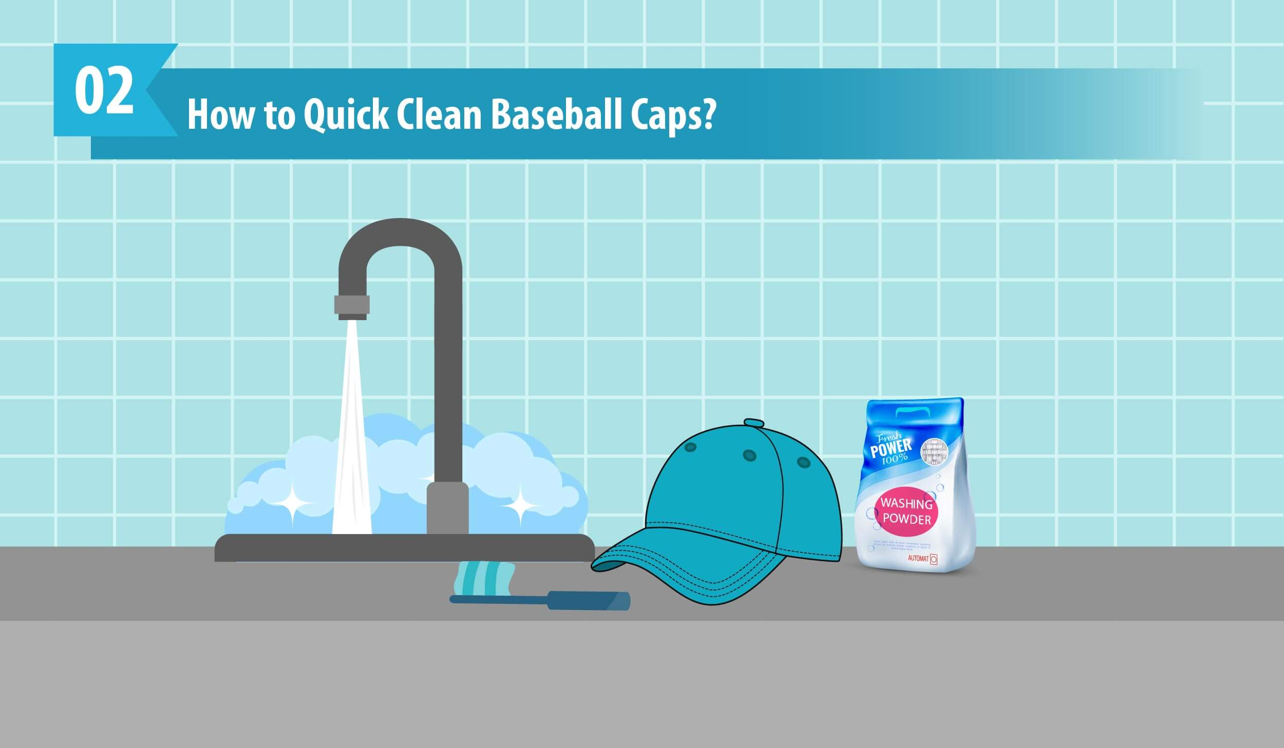 How to Quick Clean Baseball Caps