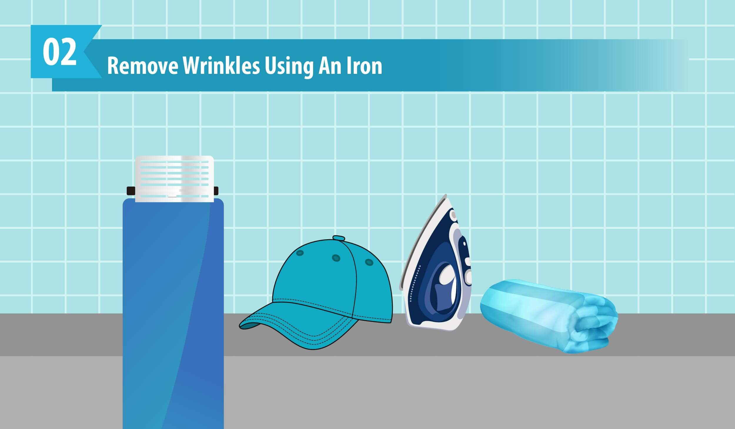 Remove Wrinkles Using An Iron