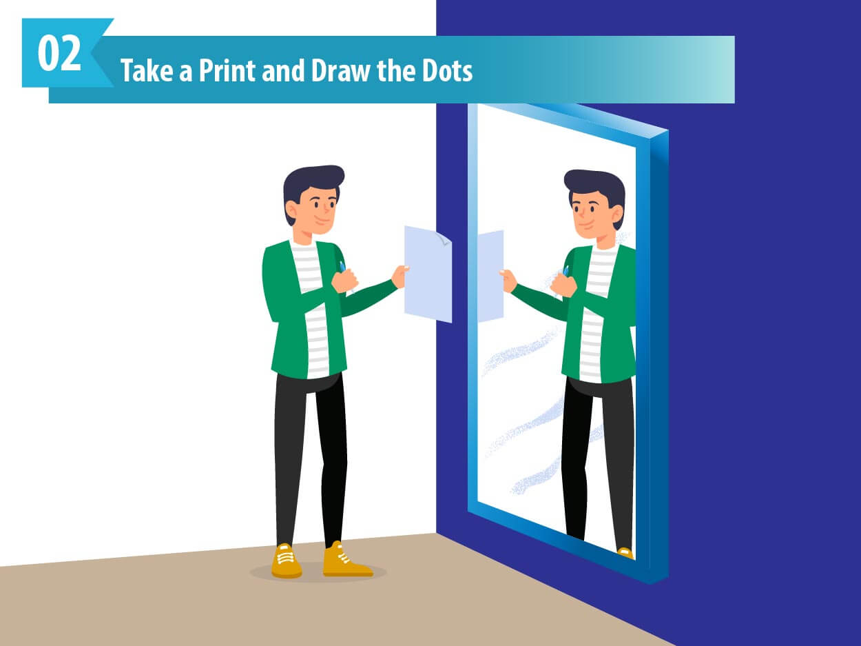 Take a Print and Draw the Dots