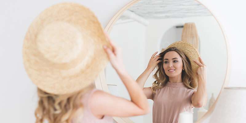 hat styling tips for face shape