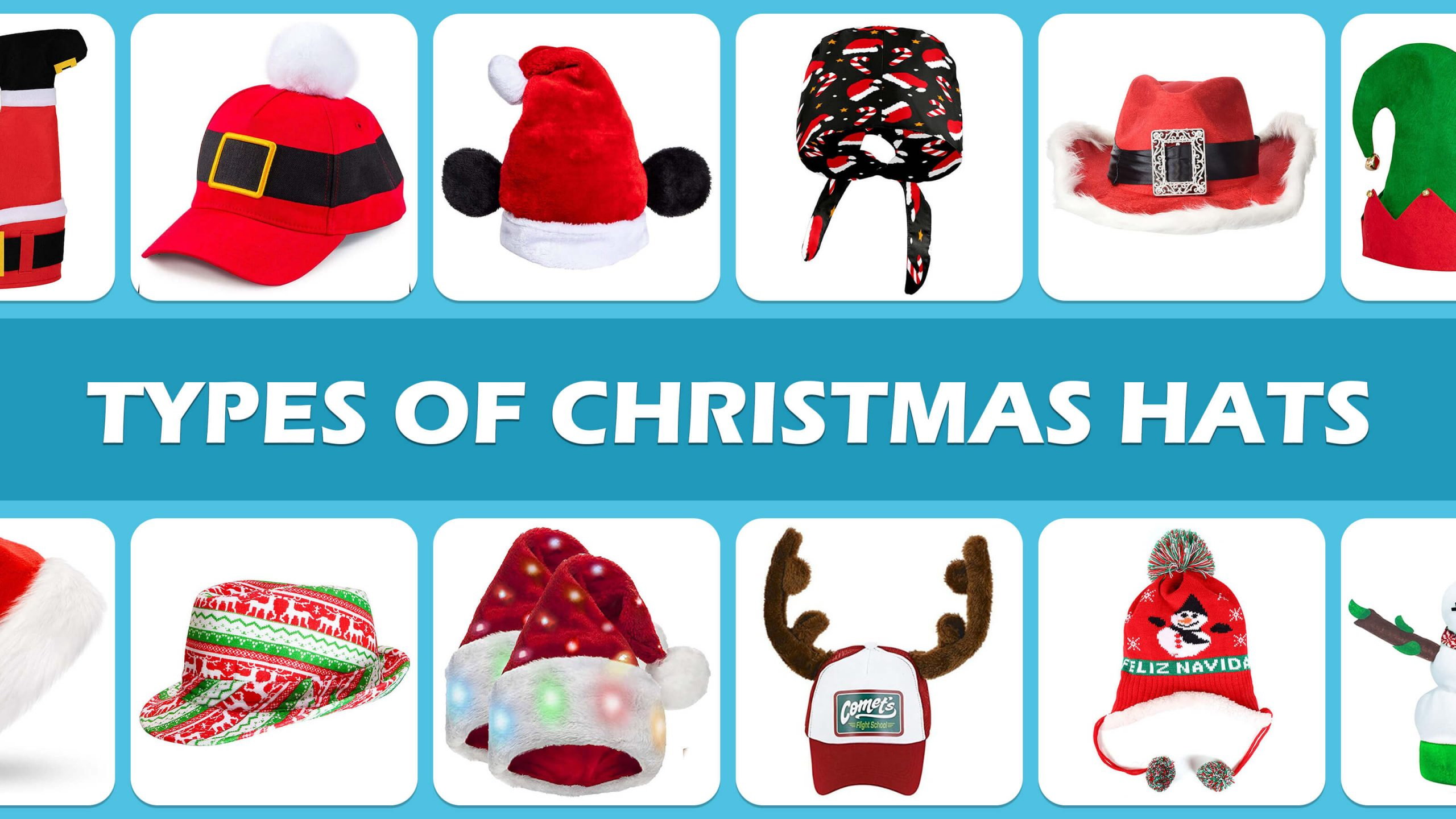 Types Of Christmas Hats