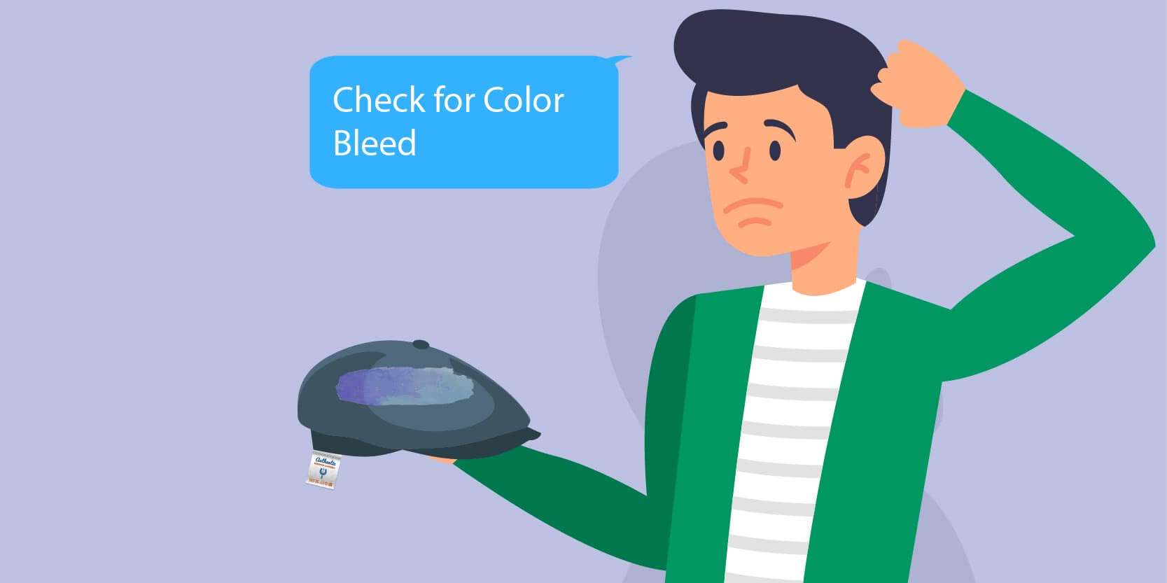 Check for Color Bleed