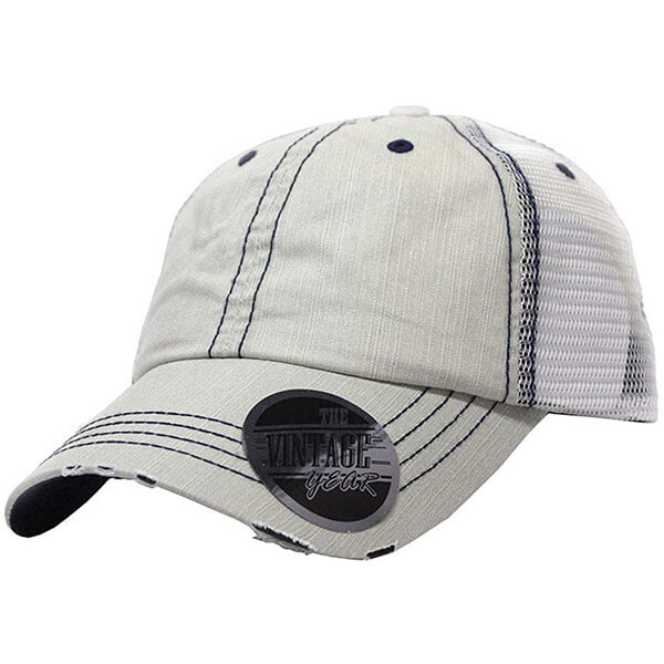 The Vintage Year Low Profile Trucker Cap