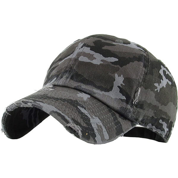 Funky Junque Camo Low Profile Hat