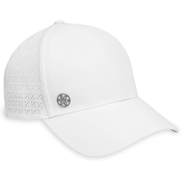 Gaiam White Color Running & Fitness Hat for Women