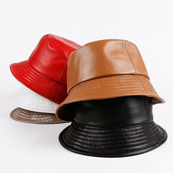 Sheepskin Bucket Hat For Winter and Fall