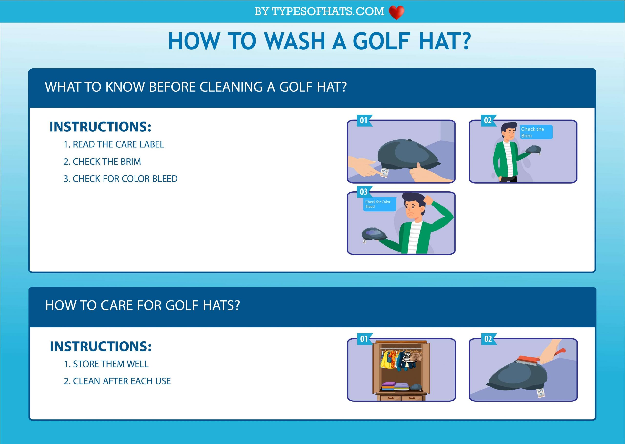 How To Wash A Golf Hat-For All Types of Golf Hats