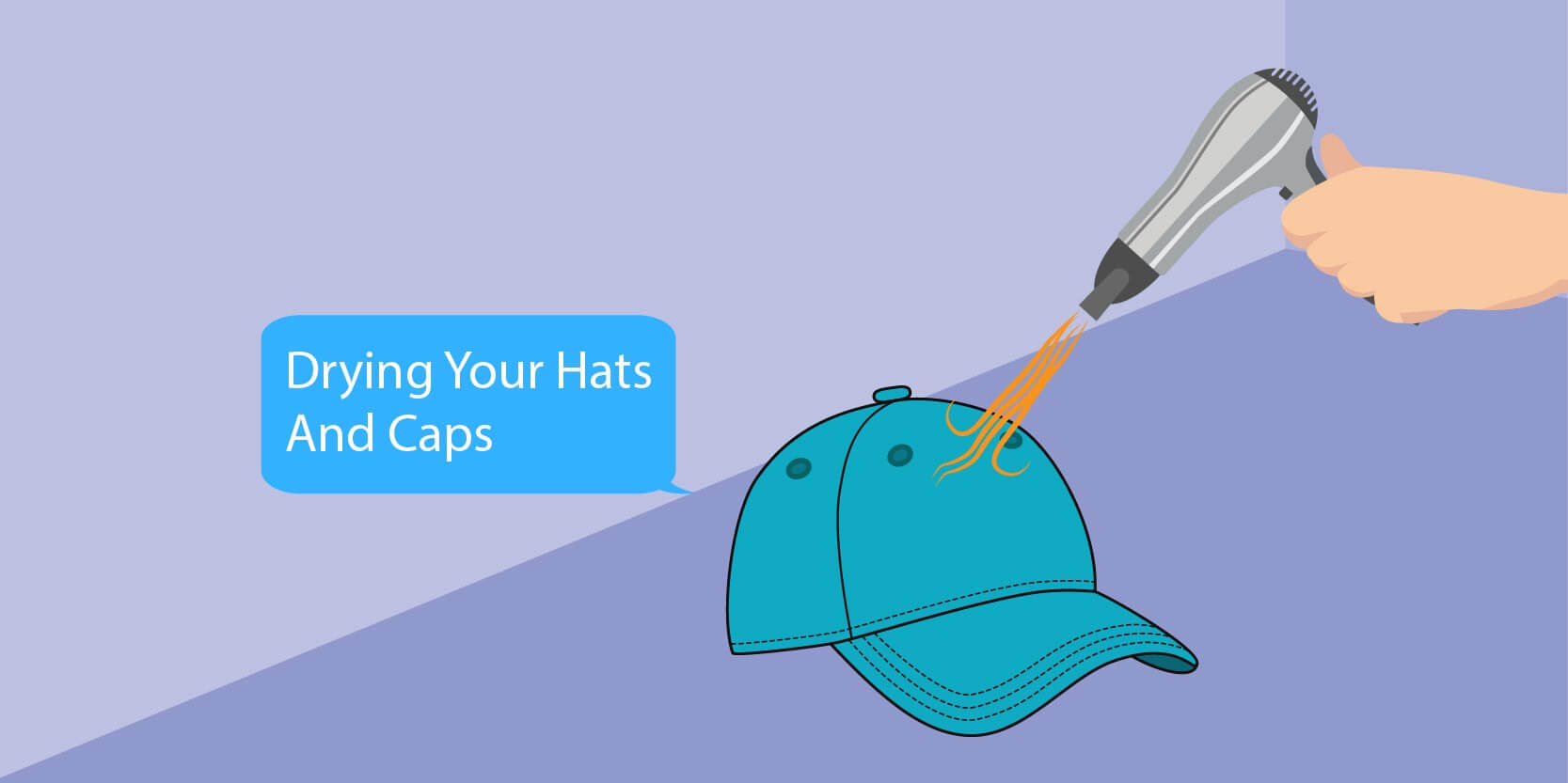 Only Air-Dry Hats and Caps