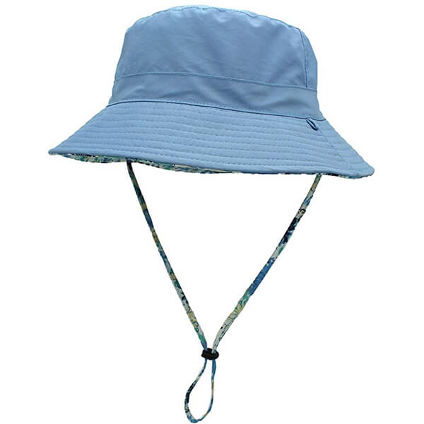 Cute bucket hat with detachable cord
